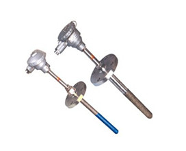 Wear-resistant cut-off thermocouple